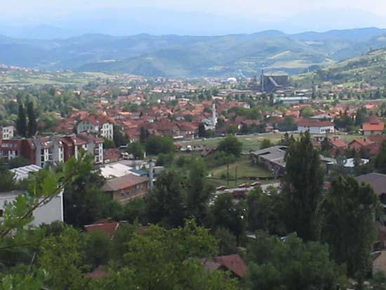 Bosnia herzegovina breza the village of breza